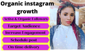 i will do instagram marketing and promotion for fast organic growth
