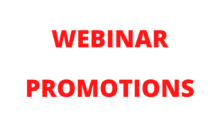 I will promote your webinar to 100k active audience on social media