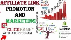 I will clickbank affiliate link promotion,affiliate marketing,affiliate link promotion