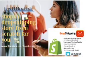 I will build shopify dropshipping store, shopify marketing, shopify facebook ads