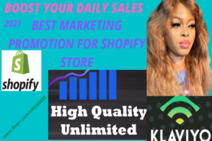 I will do shopify SEO sales marketing promotions,traffic, shopify ads for shopify store